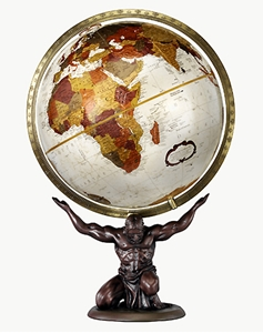 "Picture of Atlas 12"" World Globe"