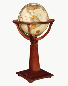 "Picture of Logan 16"" World Globe"