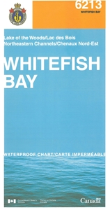 Picture of Lake of the Woods - Whitefish Bay And Northeastern Channels Nautical Chart (#6213)