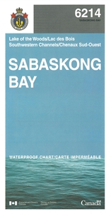 Picture of Lake of the Woods - Sabaskong Bay And Southwestern Channels Nautical Chart (#6214)