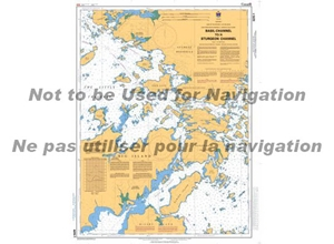 Picture of Lake of the Woods - Basil Channel To Sturgeon Channel And Southwestern Channels Nautical Chart (#6215)