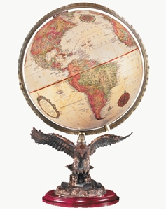 "Picture of Freedom 12"" World Globe"