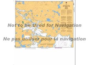 Picture of Lake of the Woods - Winnipeg River - Whitedog Dam To Minaki Nautical Chart (#6286)