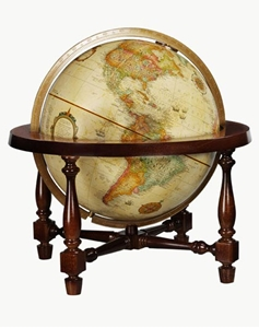 "Picture of Colonial 12"" World Globe"
