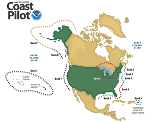 Picture of United States Coast Pilot Books  - NOAA - 48th Edition