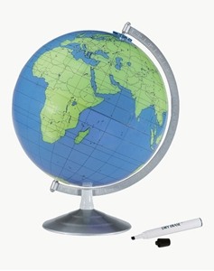 "Picture of Geographer 12"" Write & Erase World Globe"