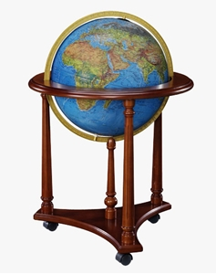 "Picture of Lafayette 16"" Blue Ocean Illuminated World Globe"