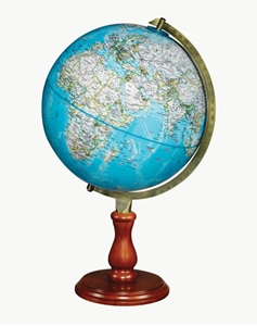 "Picture of Hudson 12"" National Geographic World Globe"