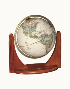 "Picture of Compass Star 12"" National Geographic World Globe"