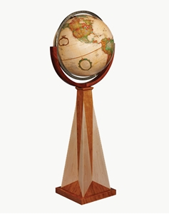 "Picture of Obelisk 16"" World Globe"