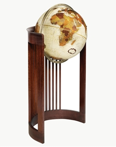 "Picture of Barrel 16"" World Globe"
