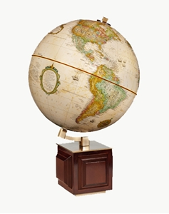 "Picture of Four Square I 12"" World Globe"