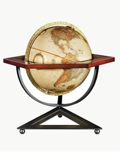 "Picture of Hexagon 12"" World Globe"