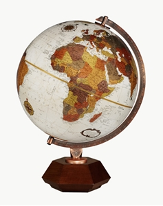 "Picture of Hexhedra 12"" World Globe"