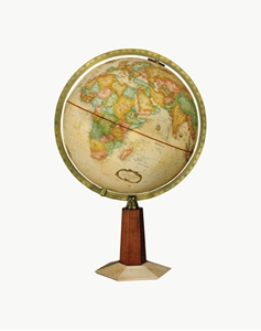 "Picture of Leerdam 12"" World Globe"