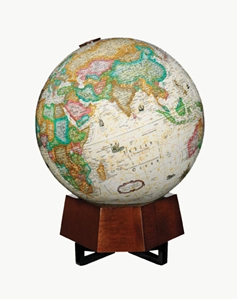"Picture of Beth Sholom Illuminated 12"" World Globe"