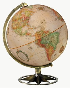 "Picture of Compass Rose 12"" World Globe"