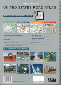 Picture of Hema United States Road Atlas (The Ultimate)