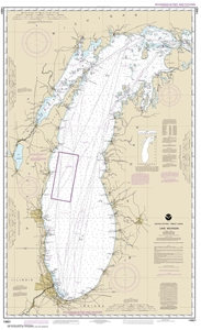 Picture of 14901 - Lake Michigan Nautical Chart