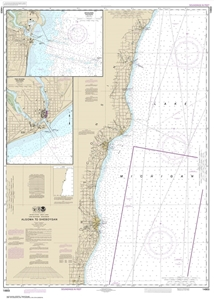 Picture of 14903 - Algoma To Sheboygan Nautical Chart