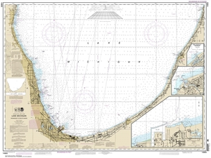 Picture of 14905 - Waukegan To South Haven Nautical Chart
