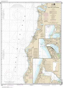 Picture of 14907 - Stony Lake To Point Betsie Nautical Chart