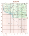 Picture of 42090 - Wisconsin Topographic Maps