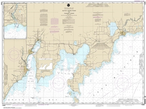 Picture of 14908 - Dutch Johns Point To Fishery Point Nautical Chart