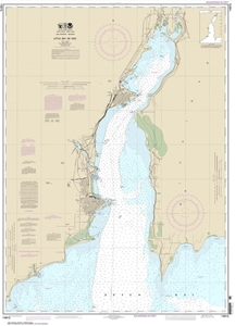 Picture of 14915 - Little Bay de Noc Nautical Chart