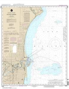 Picture of 14925 - Racine Harbor Nautical Chart