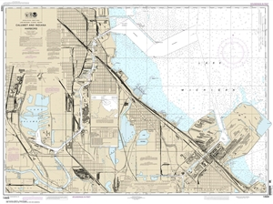 Picture of 14929 - Calumet And Indiana Harbors Nautical Chart