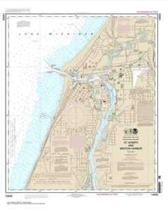 Picture of 14930 - St. Joseph And Benton Harbor Nautical Chart