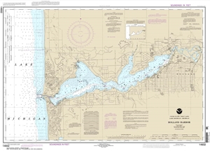 Picture of 14932 - Holland Harbor Nautical Chart