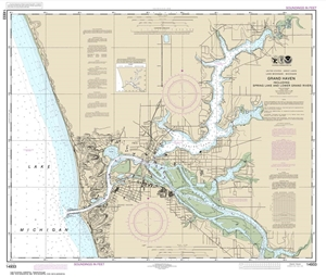 Picture of 14933 - Grand Haven Nautical Chart