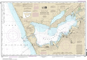 Picture of 14934 - Muskegon Lake Including Muskegon Harbor Nautical Chart