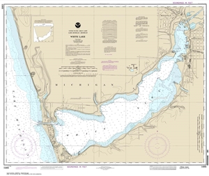 Picture of 14935 - White Lake Nautical Chart