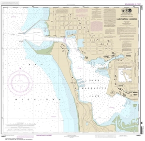 Picture of 14937 - Ludington Harbor Nautical Chart