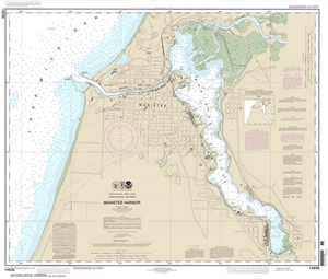 Picture of 14938 - Manistee Harbor Nautical Chart