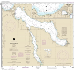 Picture of 14942 - Lake Charlevoix Nautical Chart