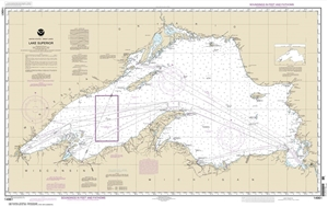 Picture of 14961 - Lake Superior Nautical Chart