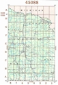 Picture of 45088 - Wisconsin Topographic Maps
