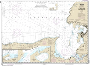 Picture of 14962 - St. Mary's River To Au Sable Point Nautical Chart