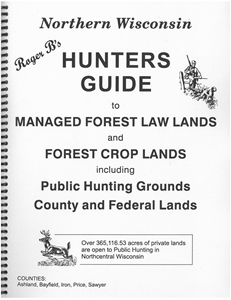 Picture of Roger B's Northern Wisconsin Hunters Guide 2014 Edition