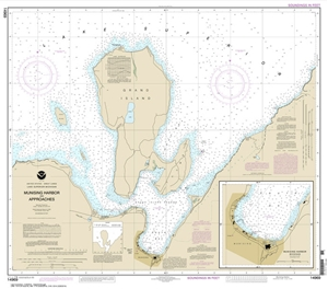 Picture of 14969 - Munising Harbor And Approaches Nautical Chart