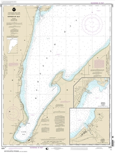 Picture of 14971 - Keweenaw Bay Nautical Chart