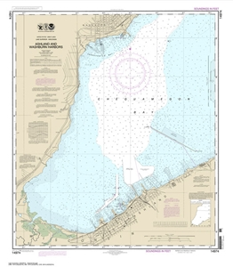 Picture of 14974 - Ashland And Washburn Harbors Nautical Chart