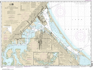 Picture of 14975 - Duluth And Superior Harbors And Upper St. Louis River Nautical Chart