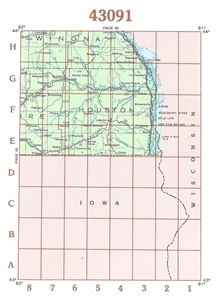Picture of 43091 - Minnesota Topographic Maps