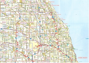 Picture of Chicago Regional Folded Road Map