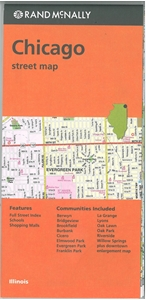 Picture of Chicago Folded City Street Map